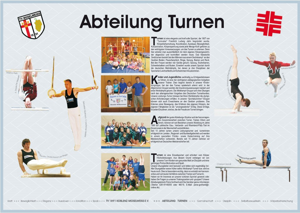 Flyer Turnen