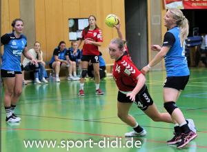 Helena Kleeschulte zeigte grippekrank eine starke Partie im Pokal gegen die HSG Wittlich