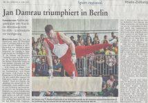 Jan Damrau wurde Deutscher Meister